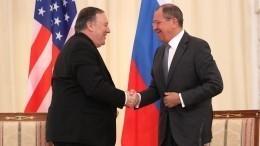 Лавров иПомпео обсудили проведение саммита «ядерной пятерки» стран
