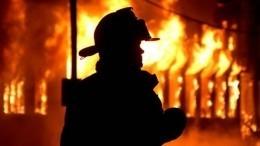 Сопровождаемый мощными хлопками пожар начался вподмосковных Котельниках