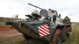 Танковые экипажи вступили всхватку снеприятелем под прикрытием артиллерии