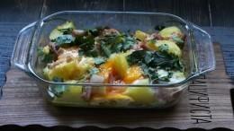 Лучший молодой картофель сбеконом исыром, который выпробовали— пошаговый рецепт сфото