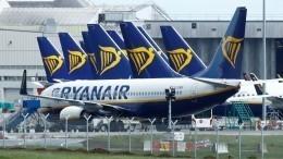 Самолет Ryanair сопровождали истребители F-16 перед посадкой ваэропорту Осло