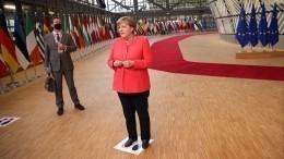 Меркель «заблудилась» вкулуарах саммита ЕСвсвоей день рождения— видео