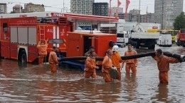 Видео: Пожилого мужчину унесло потоком воды наулице вРостове-на-Дону