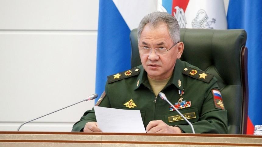 Глава Минобороны РФпровел переговоры сколлегой изАзербайджана