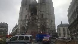 «Утрачены реликвии нескольких столетий»: историк опожаре всоборе воФранции