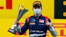 Двое россиян заняли первые места нагонке «Формулы-2» вВенгрии