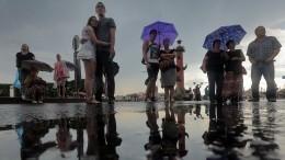 Синоптик рассказал, когда вПетербург вернутся дожди ипохолодание