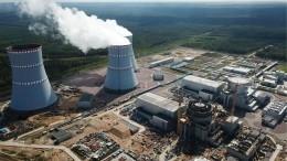 Видео: первую кассету ядерного топлива загрузили наЛенинградской АЭС