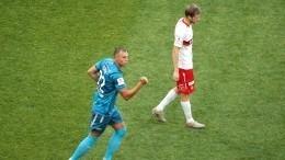 Ах, Дзюба! Капитан «Зенита» открыл счет вполуфинальном матче со«Спартаком»