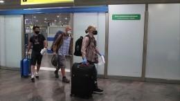 Более 100 россиян доставили вывозным рейсом изАфрики вМоскву