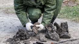 Останки почти 100 красноармейцев нашли под Тулой— видео