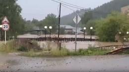 Режим ЧСвведен вНижних Сергах после мощного ливня, затопившего город
