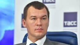 Песков назвал качества Дегтярева, закоторые его назначили врио губернатора Хабаровского края