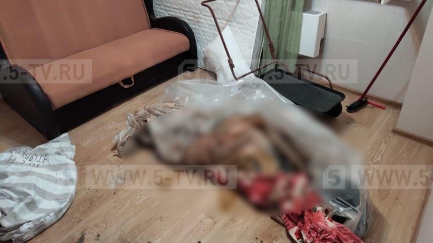 Тело женщины впакете нашла хозяйка квартиры вПодмосковье— фото18+