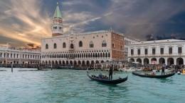 Гондольеры Венеции жалуются нарастолстевших накарантине туристов— видео