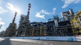 Путин принял участие взапуске комплекса переработки нефти вМоскве