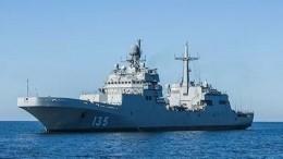 Впервые вГлавном военно-морском параде примет участие большой десантный корабль «Петр Моргунов»