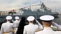 ВФинском заливе накануне Дня ВМФ почтили память погибших моряков