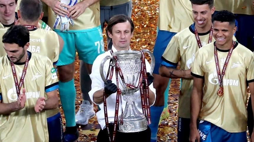 Насчастье! Игроки «Зенита» вовремя празднования разбили крышку уКубка России