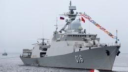 Морской парад вчесть Дня ВМФ состоялся воВладивостоке— видео