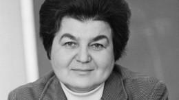 ВПетербурге умерла автор знаменитой статьи скритикой перестройки Горбачева