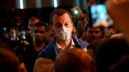 Видео: Михаил Дегтярев впервые вышел кучастникам акции вХабаровске