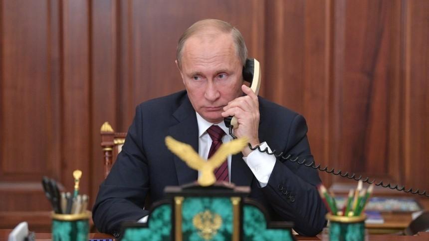 ВКремле сообщили озвонке Зеленского Путину