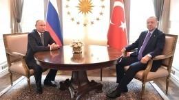 Путин иЭрдоган обсудили потелефону ситуацию награнице Армении иАзербайджана