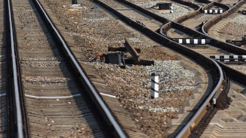 Видео: Поезд сошел срельсов наюге Петербурга