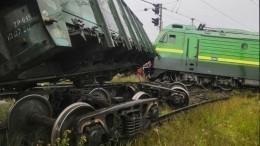 Транспортная полиция начала проверку после столкновения двух поездов вПетербурге