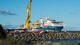 Трубоукладчик «Северного потока— 2» перестал принадлежать «Газпрому»
