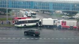 Один человек погиб ивосемь пострадали вДТП савтобусом вМоскве
