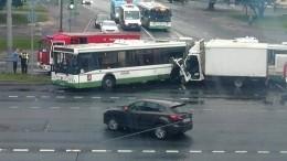 Предполагаемый виновник смертельного ДТП савтобусом вМоскве был пьян— фото