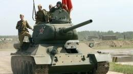 Реставраторы восстановили танк Т-34, защищавший блокадный Ленинград
