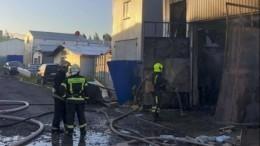 ВПетербурге загорелся яхт-клуб «Балтиец»