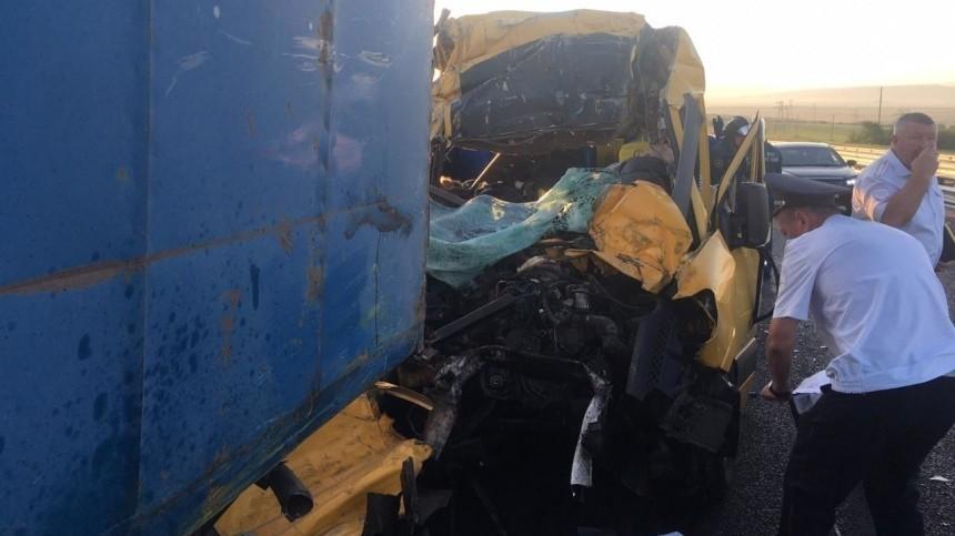 Водитель микроавтобуса, попавшего вДТП вКрыму, неимел необходимой лицензии