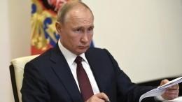 Путин подписал закон оголосовании навыборах втечение трех дней