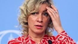 «Фантазийный процесс»— Захарова орасследовании падения Ту-154 слидером Польши
