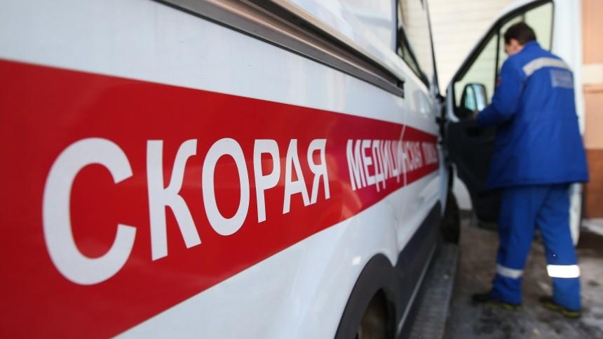 Легковушка влетела вкомбайн наМКАДе, три человека погибли
