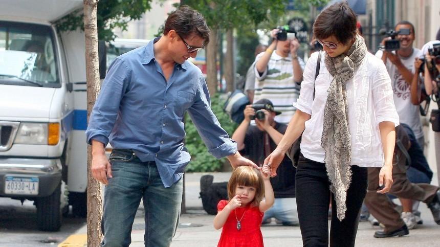 Как выглядит повзрослевшая дочь Тома Круза