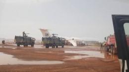 Стали известны подробности жесткой посадки самолета ООН вМали