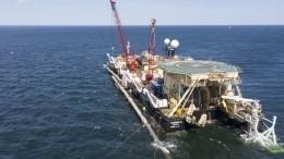 Дания позволила продолжить строительство «Северного потока— 2»