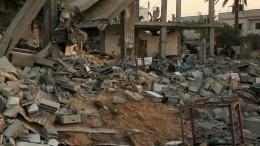 Фасад здания посольства РФвЛиване получил повреждения при взрыве вБейруте