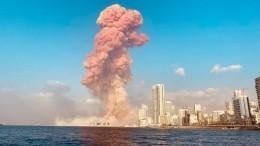 Сотрудница посольства РФпострадала при взрыве вБейруте