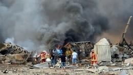 Момент прохождения взрывной волны через жилой дом вБейруте попал навидео