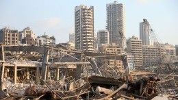 Глава МВД Ливана: ВБейруте взорвалась аммиачная селитра
