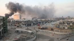 Около трех тонн селитры взорвалось впорту Бейрута вовремя сварочных работ