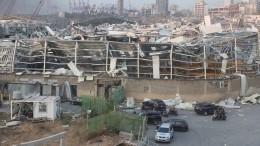 Стало известно осостоянии россиянина, пострадавшего при взрыве вБейруте