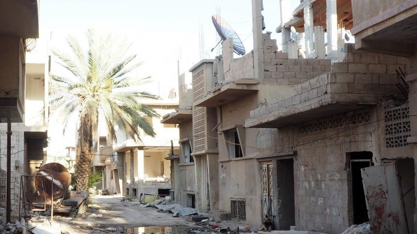 Опубликовано полное видео подрыва российской колонны военных вСирии