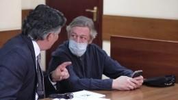 Михаил Ефремов превысил скорость ипотерял контроль вмомент ДТП— прокурор